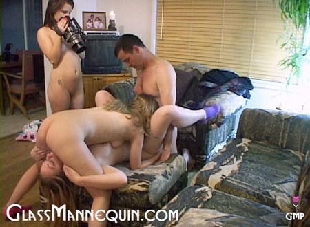 Gracelynn's First Orgy